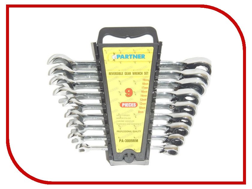Ключ Partner PA-3009RM набор инструмента partner pa 3109m