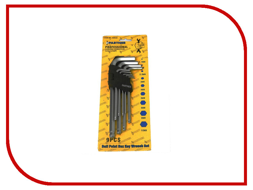 Набор инструмента Partner PA-509LB<br>