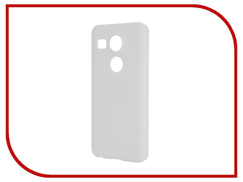 Аксессуар Чехол LG Nexus 5X Nillkin Frosted Shield White