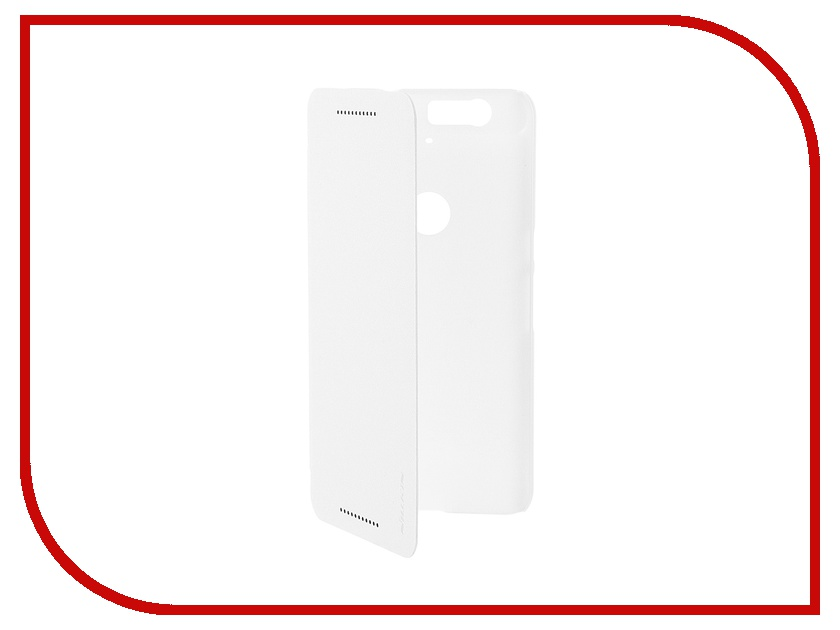 Аксессуар Чехол Huawei Nexus 6P Nillkin Sparkle White<br>