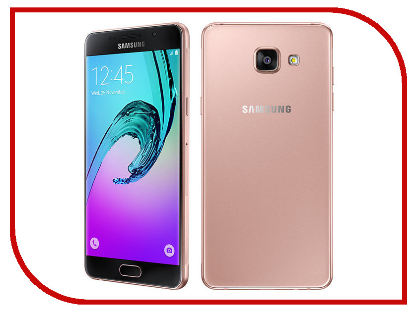 Сотовый телефон Samsung SM-A510F/DS Galaxy A5 (2016) Pink Gold samsung galaxy a5 sm a510f ds white