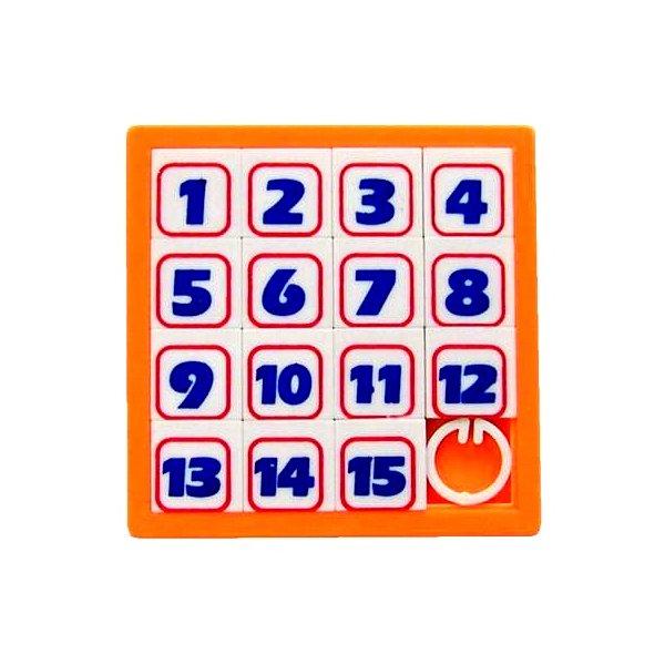 Головоломка Эврика Пятнашки Orange 90039