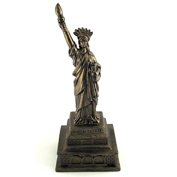 Копилка для денег Эврика Статуя Свободы Gold 94939 цены онлайн