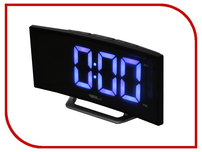Часы настольные BVItech BV-412BKS Blue-Black<br>