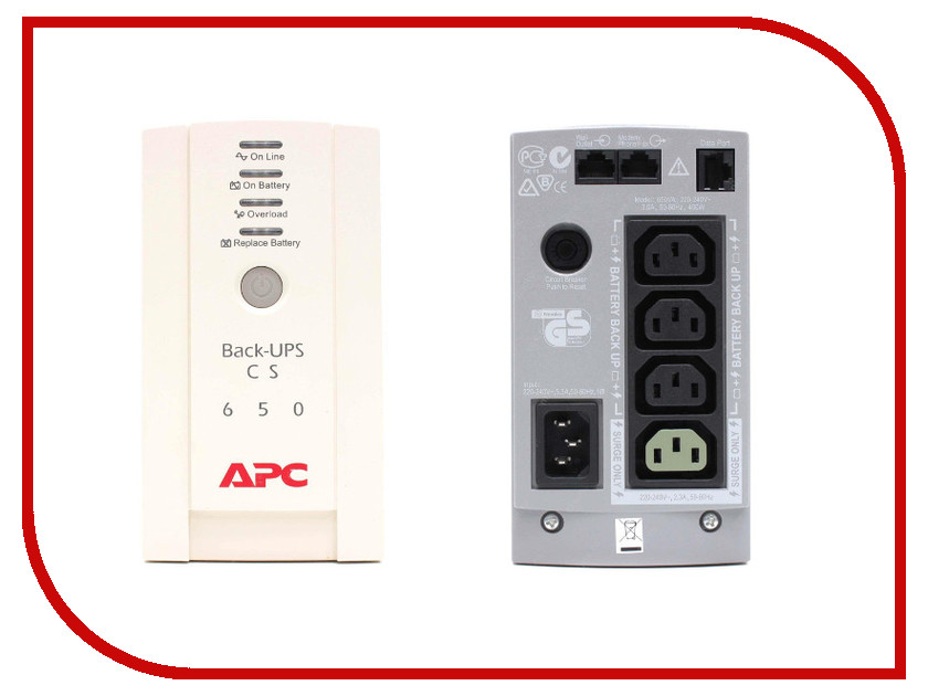 Фото - Источник бесперебойного питания APC Schneider Electric Back-UPS CS 650VA 230W BK650EI contrast lace keyhole back blouse