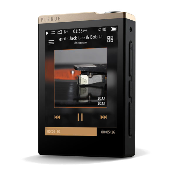 Плеер Cowon iAudio Plenue D 32Gb Gold-Black