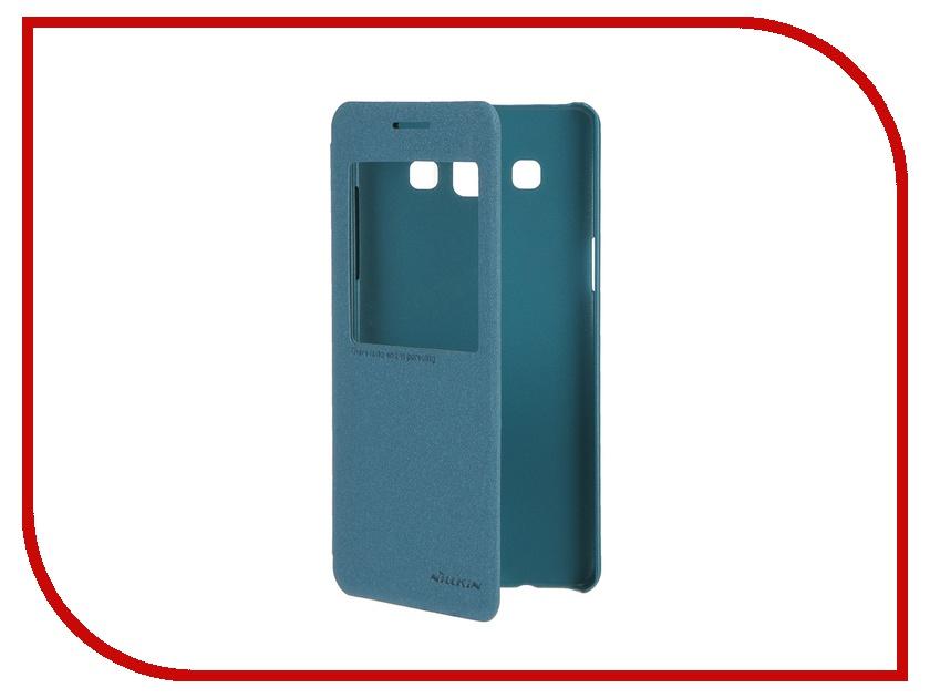 Аксессуар Чехол Samsung Galaxy A5 Nillkin Sparkle Blue<br>