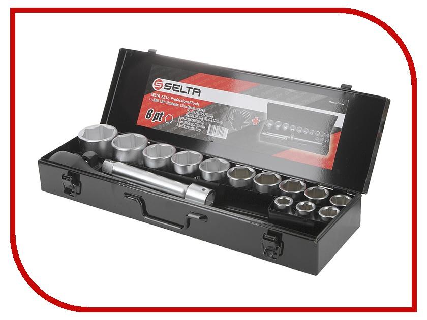 Набор инструмента SELTA 6516  набор инструмента selta 45180
