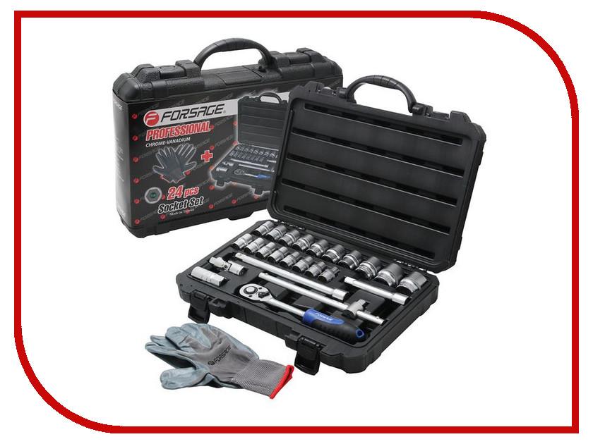Набор инструмента Forsage 4243-5  набор инструмента forsage 025 5 msa