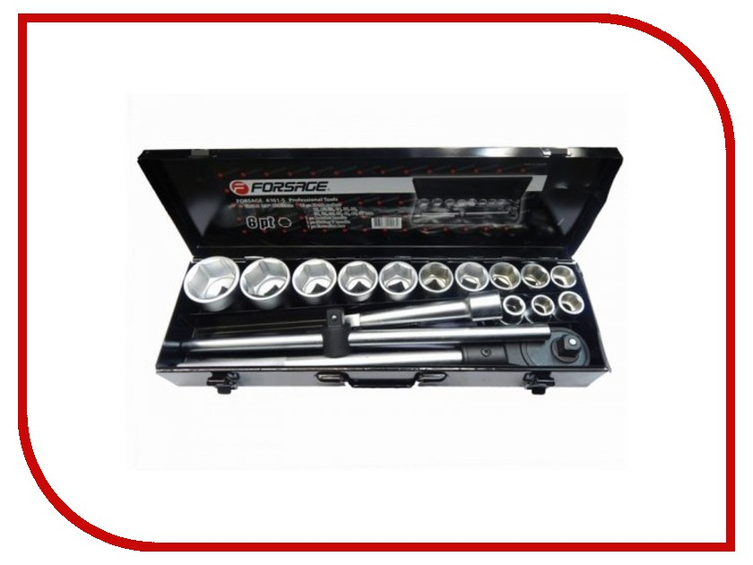Набор инструмента Forsage 6161-5 набор головок forsage 9738 014 9 msa