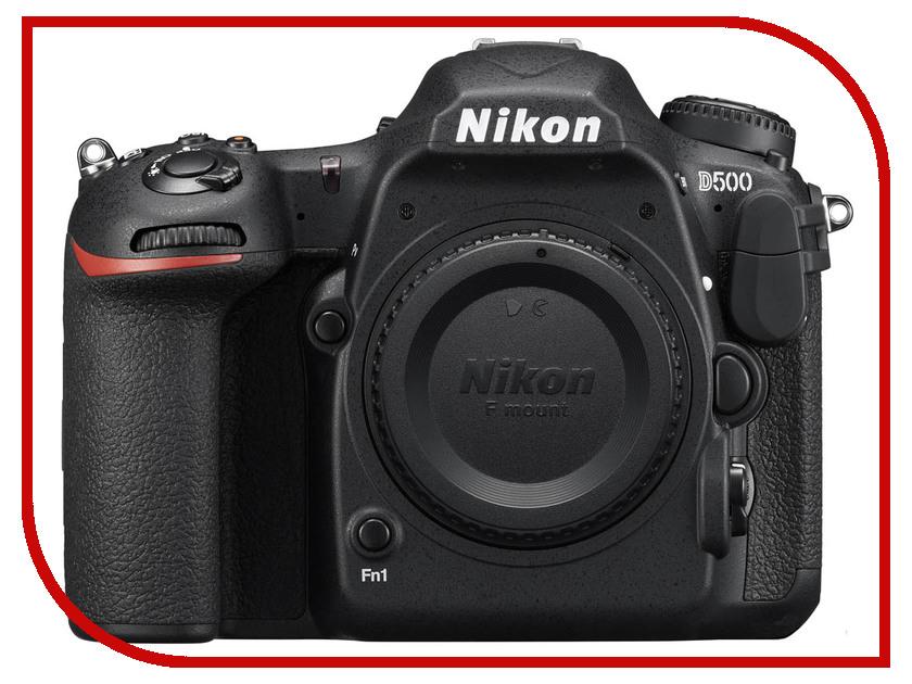 Фотоаппарат Nikon D500 Body купить nikon d80 body петербург