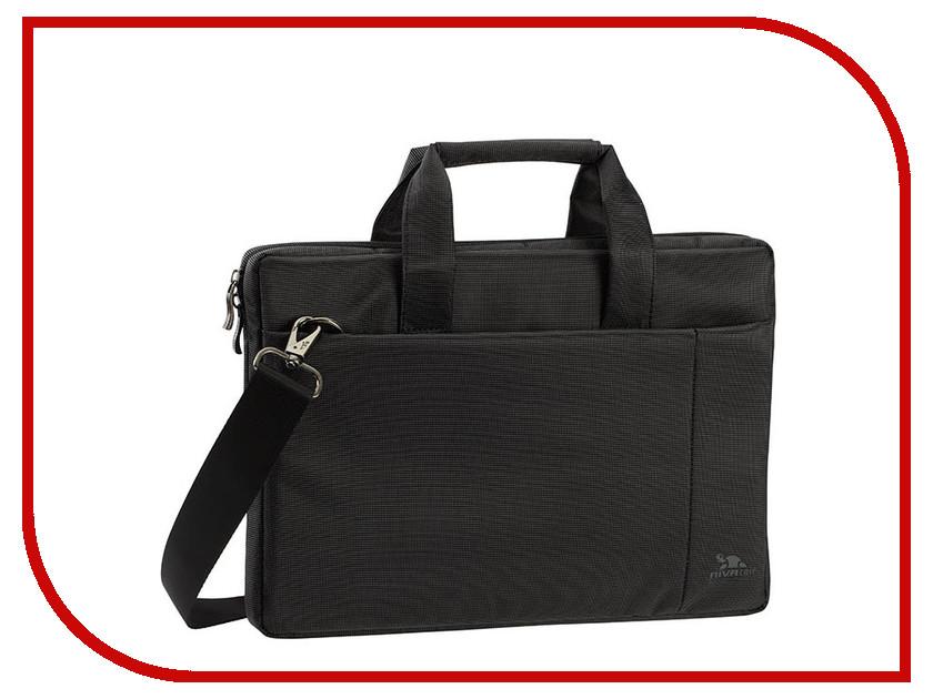 Аксессуар Сумка 13.3 RIVACASE 8221 Black аксессуар сумка 16 rivacase 7590 grey