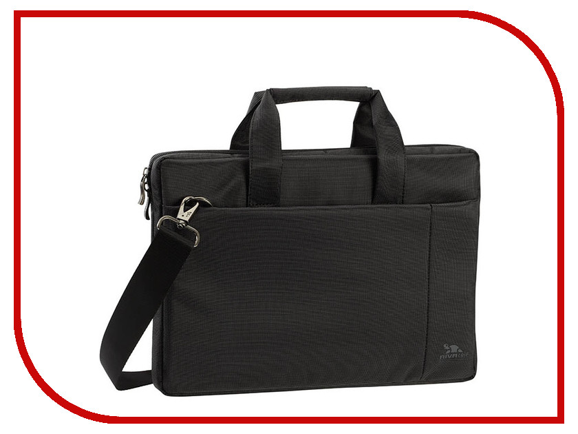 Аксессуар Сумка 13.3 RIVACASE 8221 Black аксессуар держатель рулетка для бейджей durable 8221 58 dark grey 1шт