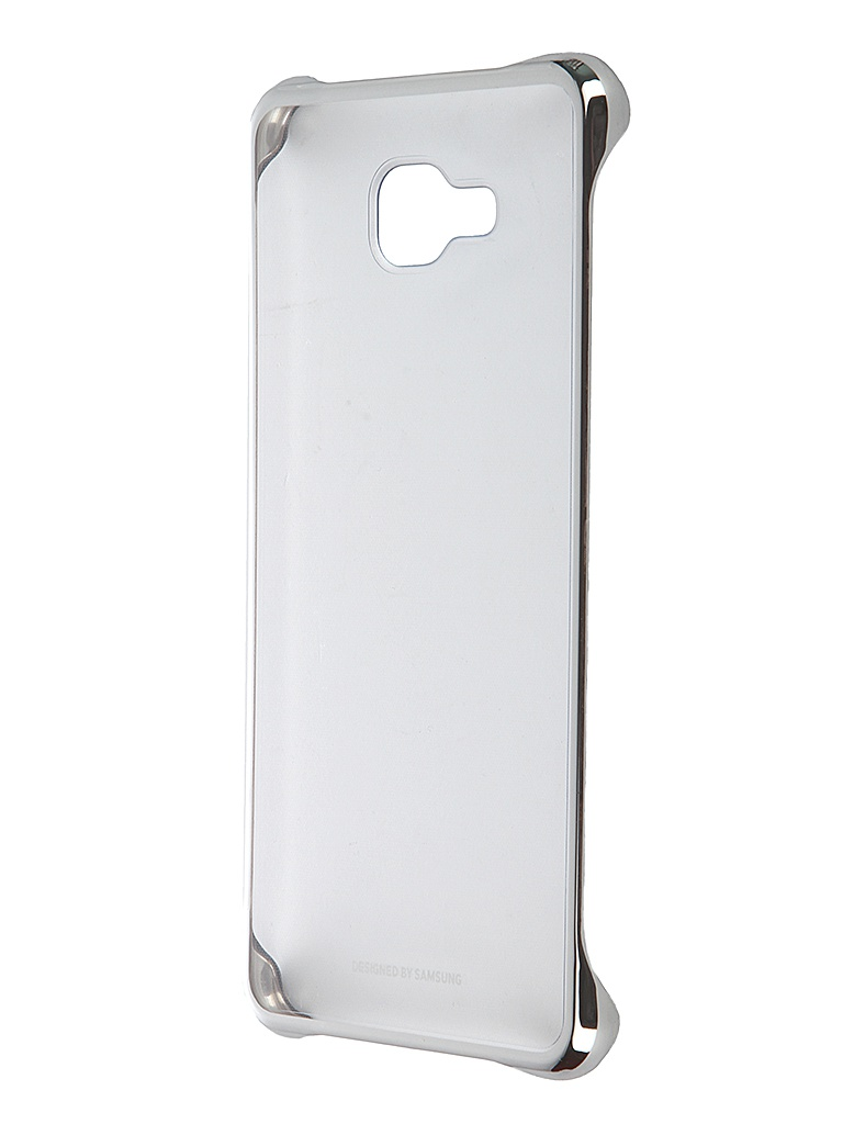 Аксессуар Чехол Samsung Galaxy A7 2016 Clear Cover Silver EF-QA710CSEGRU<br>