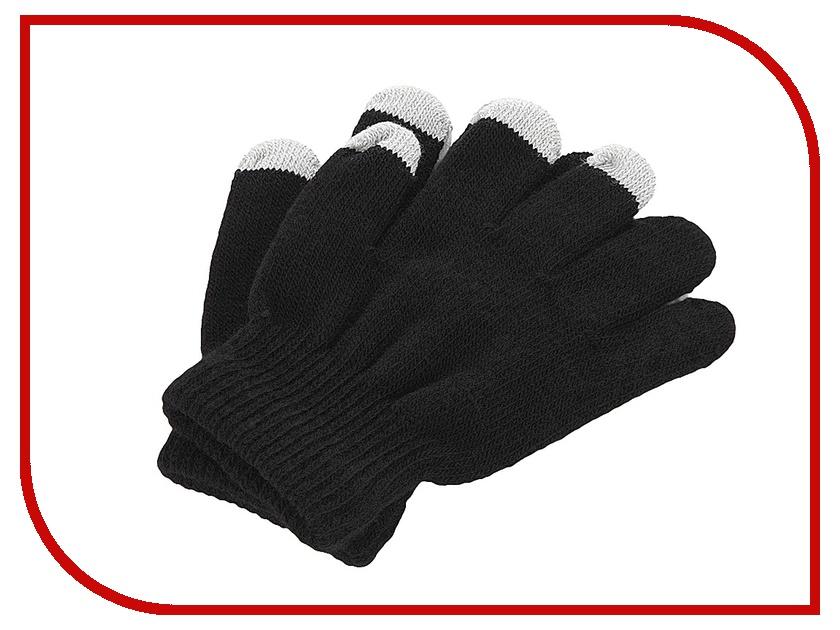 Теплые перчатки для сенсорных дисплеев iGlover Classic Black Детские