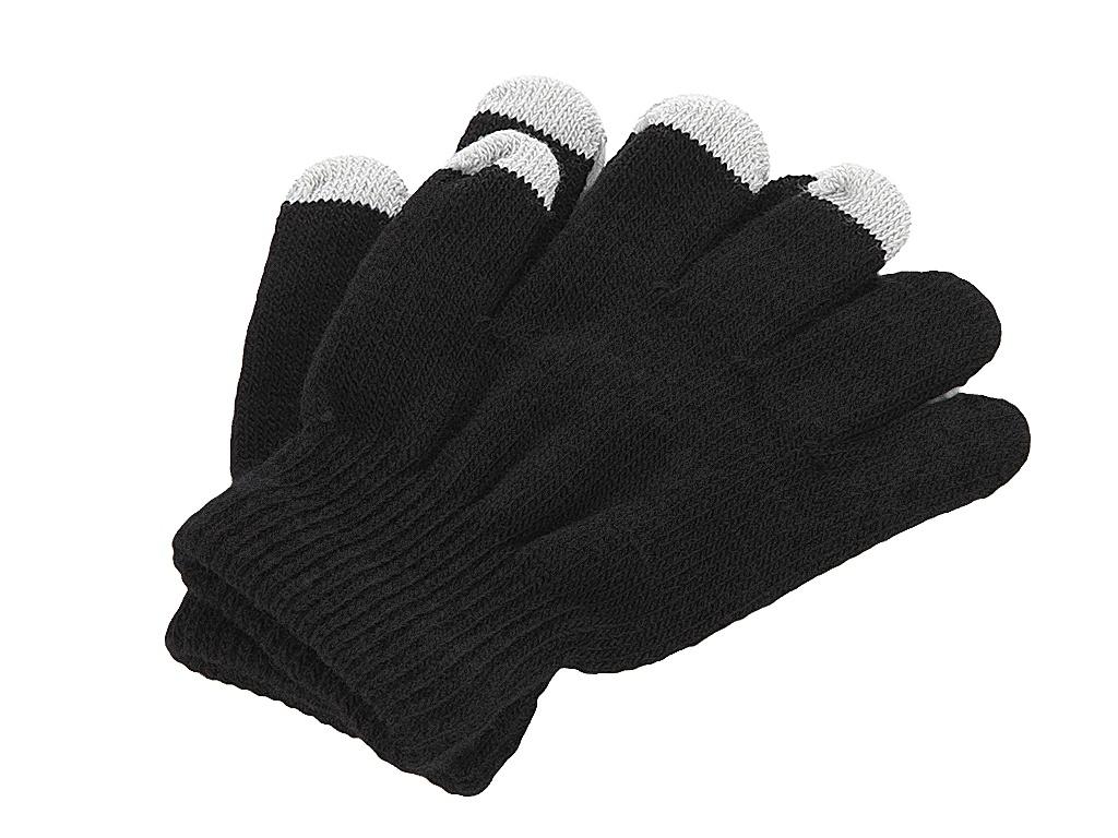 Теплые перчатки для сенсорных дисплеев iGlover Classic Black Детские р.UNI недорого