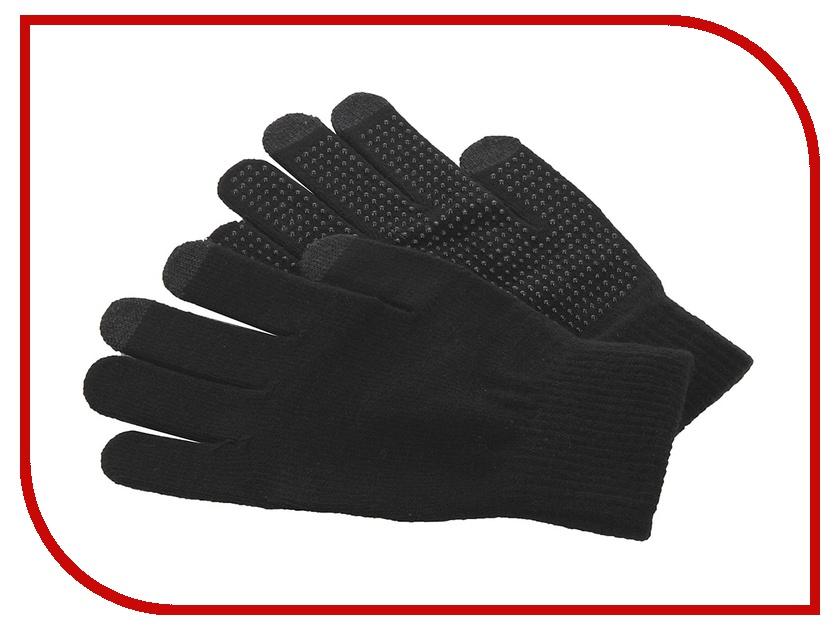 Теплые перчатки для сенсорных дисплеев iGlover Classic Antislip Black