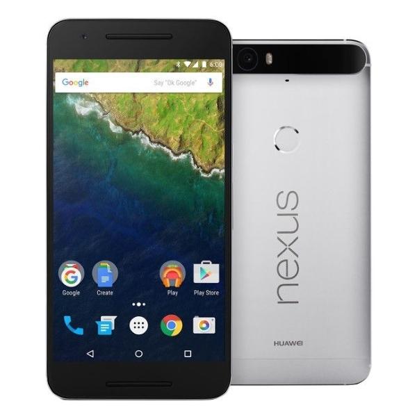 Сотовый телефон Huawei Nexus 6P 64Gb Silver<br>
