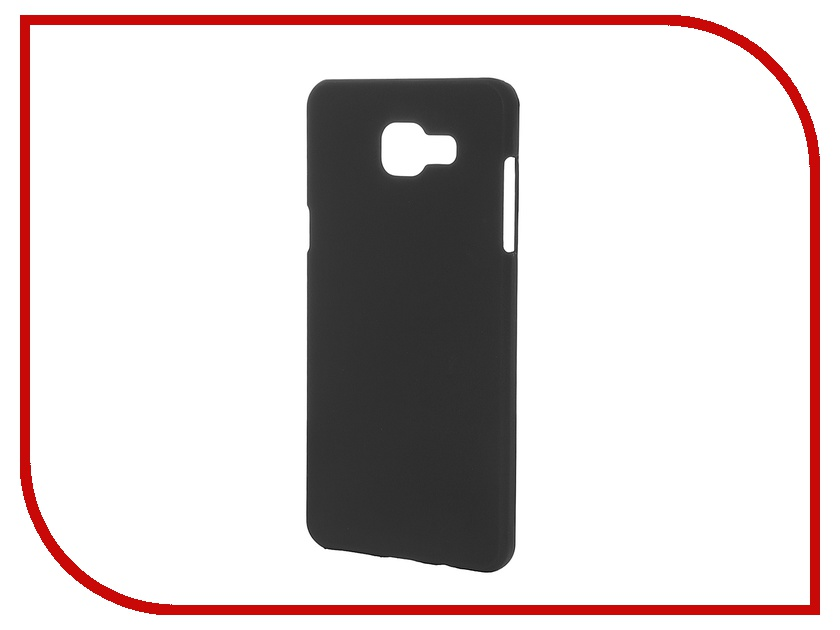 Аксессуар Чехол-накладка Samsung Galaxy A5 2016 SkinBox 4People Black T-S-SGA52016-002 + защитная пленка