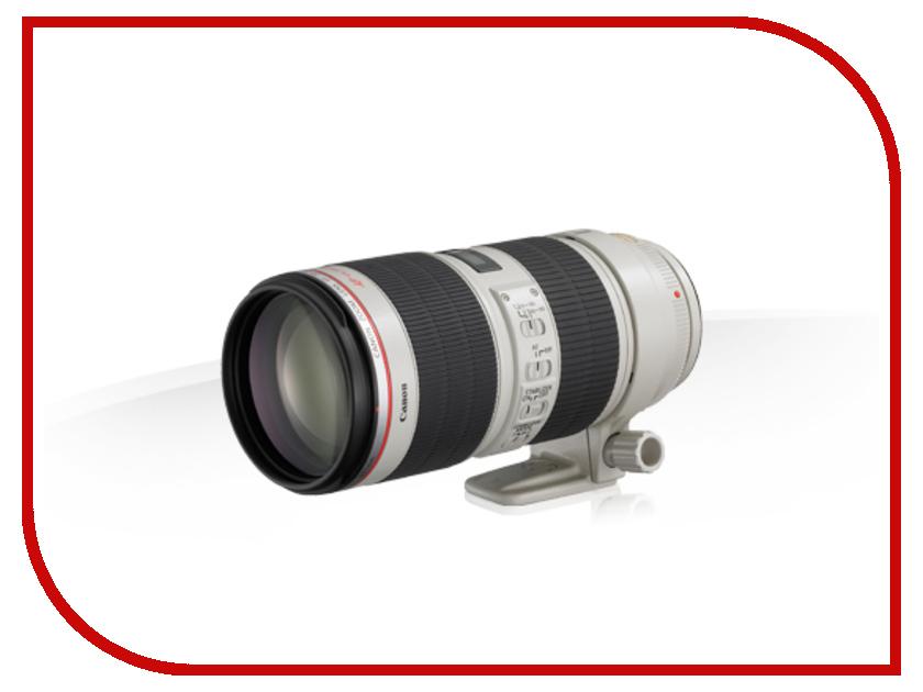 Объектив Canon EF 70-200mm f/2.8L IS II USM объектив премиум canon ef17 40 f 4 0l usm