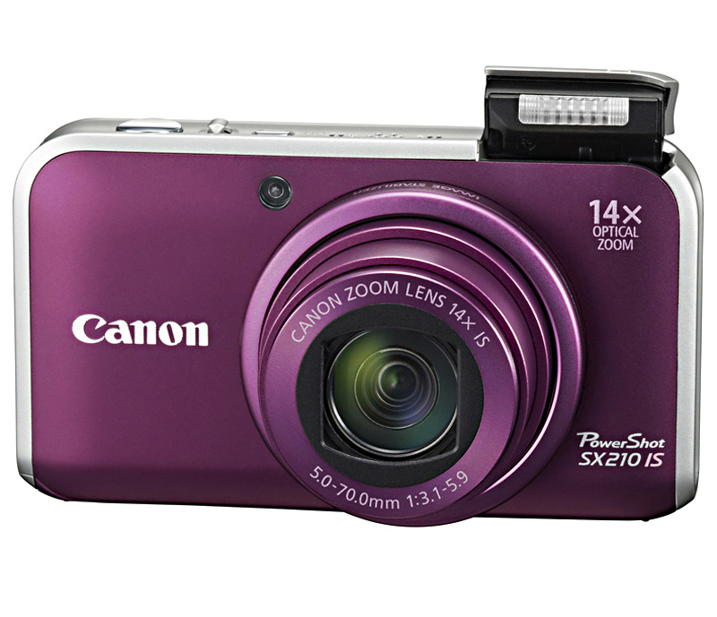Фотоаппарат Canon PowerShot SX210 IS Purple*