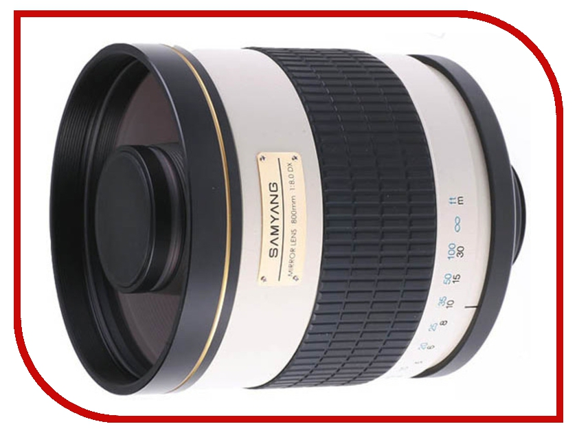 Объектив Samyang T-mount MF 800 mm F/8.0 Mirror