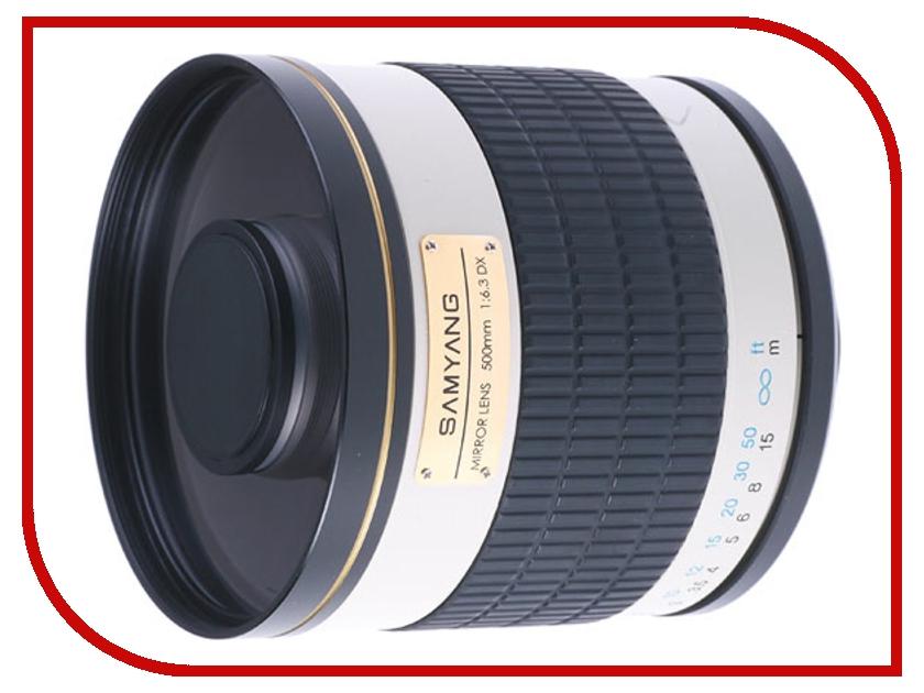 Объектив Samyang T-mount MF 500 mm F/6.3 Mirror<br>