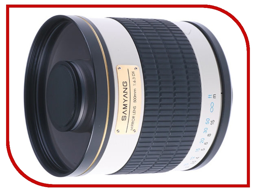 Объектив Samyang T-mount MF 500 mm F/6.3 Mirror