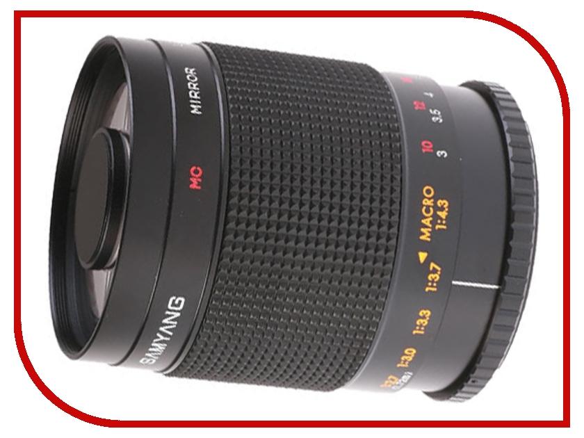 Объектив Samyang T-mount MF 500 mm F/8.0 Mirrorобъективы универсальные<br><br>