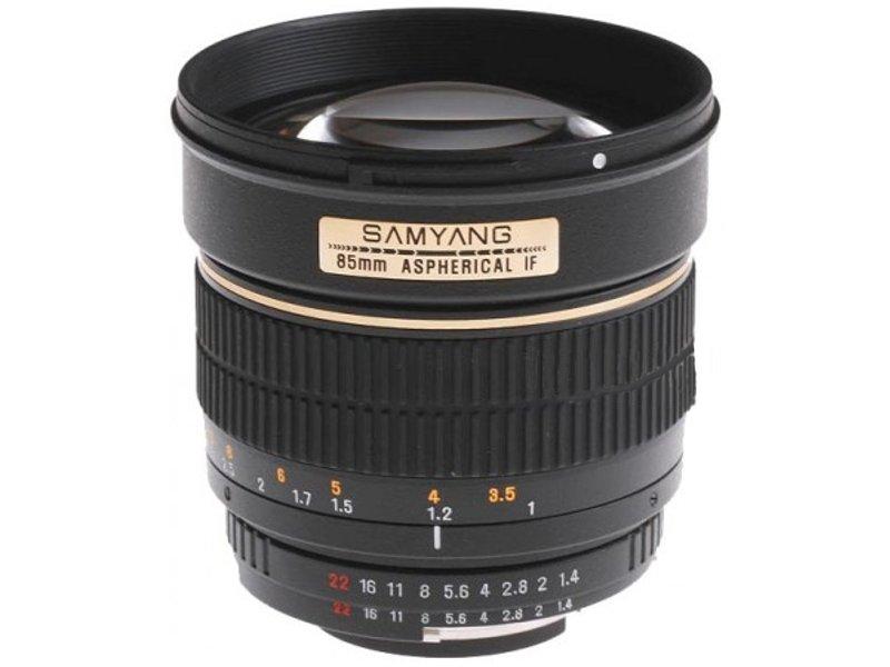 Объектив Samyang Pentax MF 85 mm F/1.4<br>