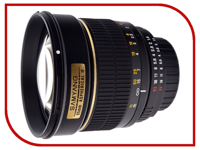 Zakazat.ru: Объектив Samyang 85mm f/1.4 AS IF Canon EF