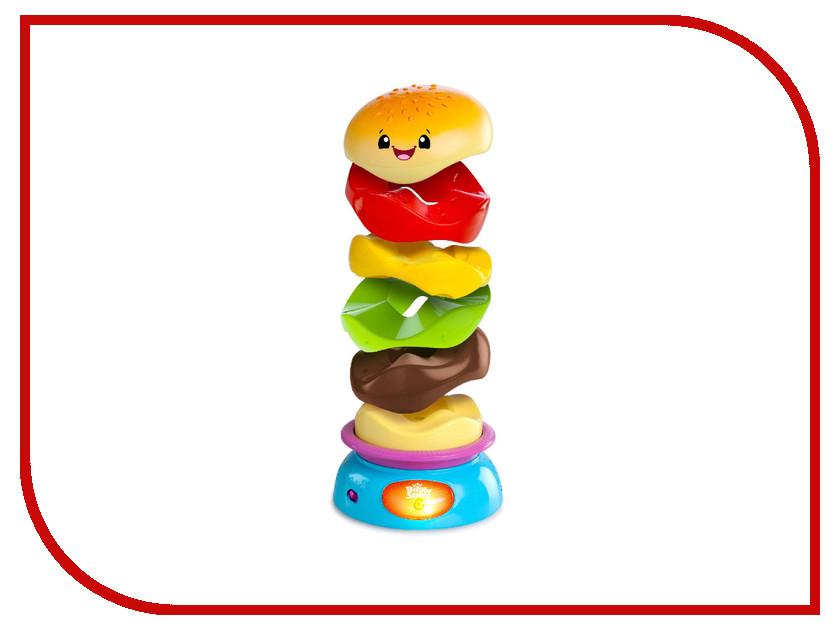 Пирамида Bright Starts Веселый бутерброд 52126 пирамидка bright starts развивающая игрушка пирамидка веселый бутерброд