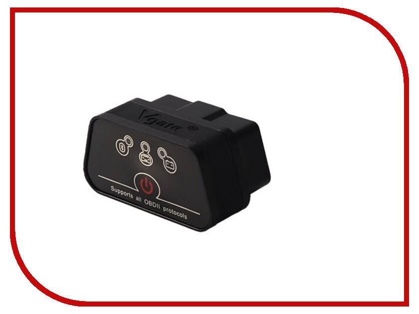 Автосканер vGate iCar2 OBD 2 PRO Black<br>