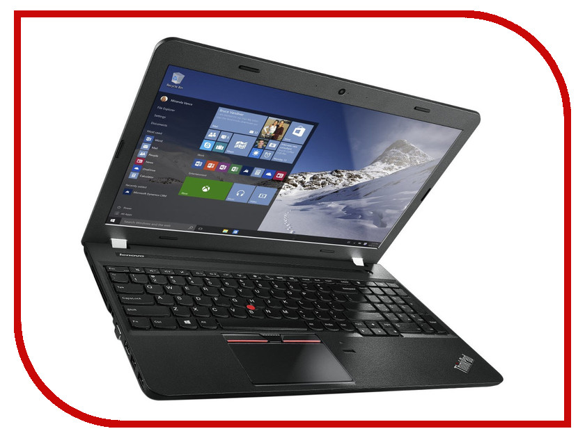 Ноутбук Lenovo ThinkPad Edge E560 20EV0010RT (Intel Core i5-6200U 2.3 GHz/4096Mb/500Gb + 8Gb SSD/DVD-RW/Intel HD Graphics/Wi-Fi/Cam/15.6/1366x768/Windows 7 64-bit) 341802<br>