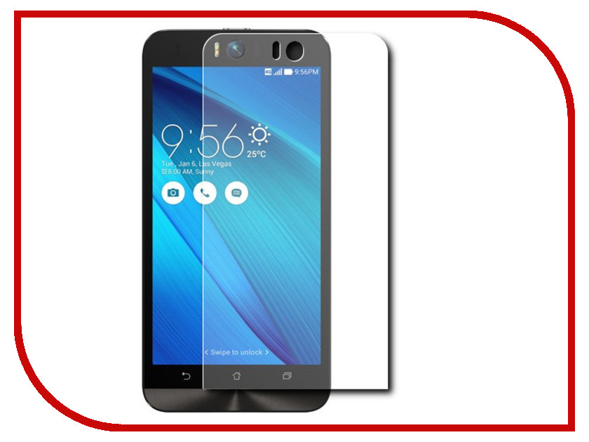 Аксессуар Защитное стекло в конверте ASUS ZenFone Selfi ZD551KL GC GG-AZS55KL<br>