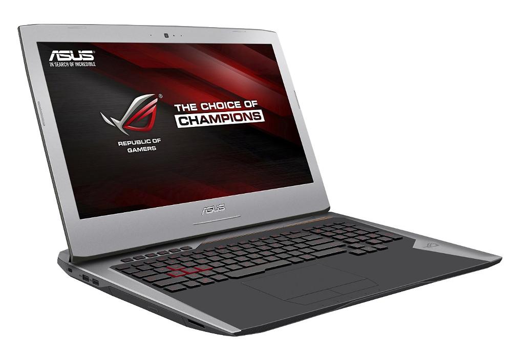 Ноутбук ASUS ROG G752VY-GC304T 90NB09V1-M03500 (Intel Core i7-6700HQ 2.6 GHz/65536Mb/2000Gb + 2x256Gb SSD/BD-ROM/nVidia GeForce GTX 980M 8192Mb/Wi-Fi/Cam/17.3/1920x1080/Windows 10 64-bit)<br>