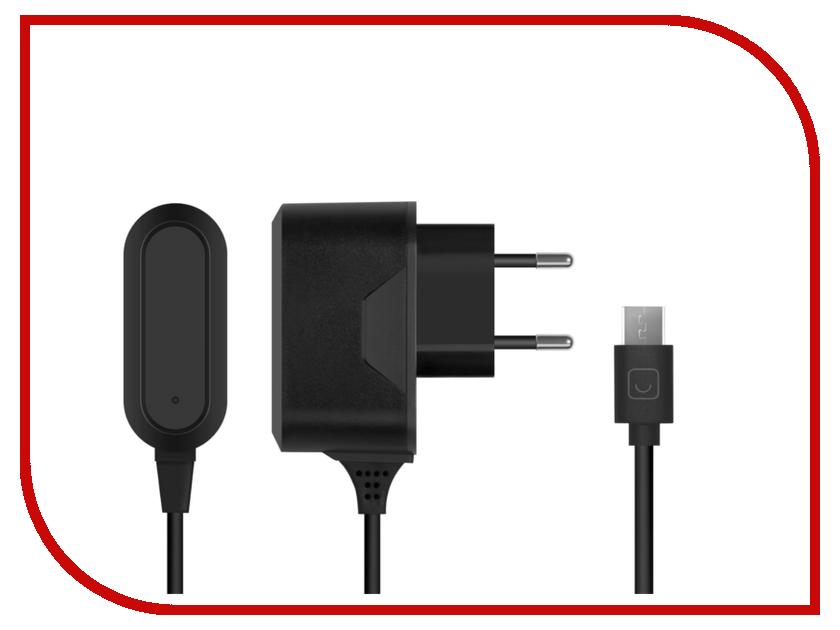 Зарядное устройство Prime Line Micro USB 1A Black 2302