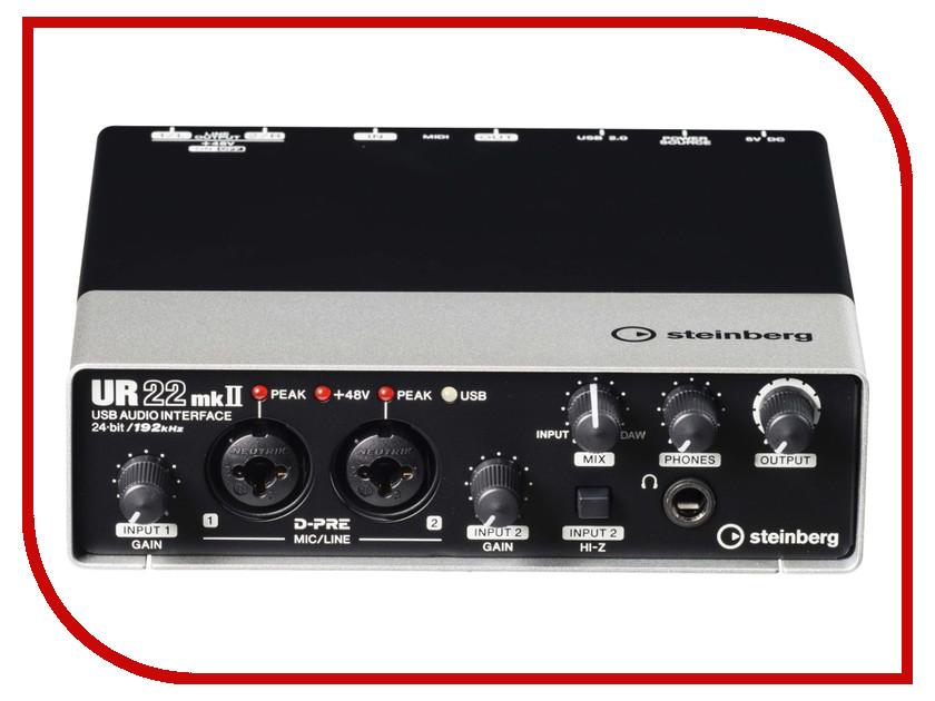 Аудиоинтерфейс Steinberg UR22 MK II laser head dcs p8i mk ii sacd