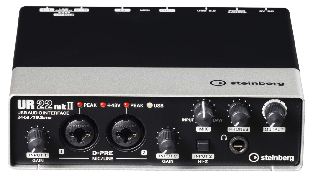 Аудиоинтерфейс Steinberg UR22 MK II
