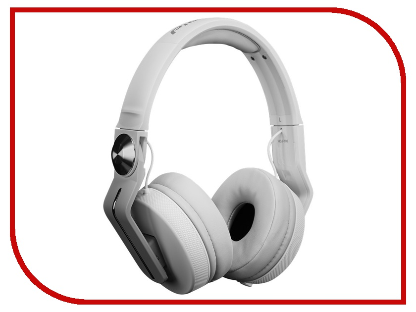 Наушники Pioneer HDJ-700-W White<br>