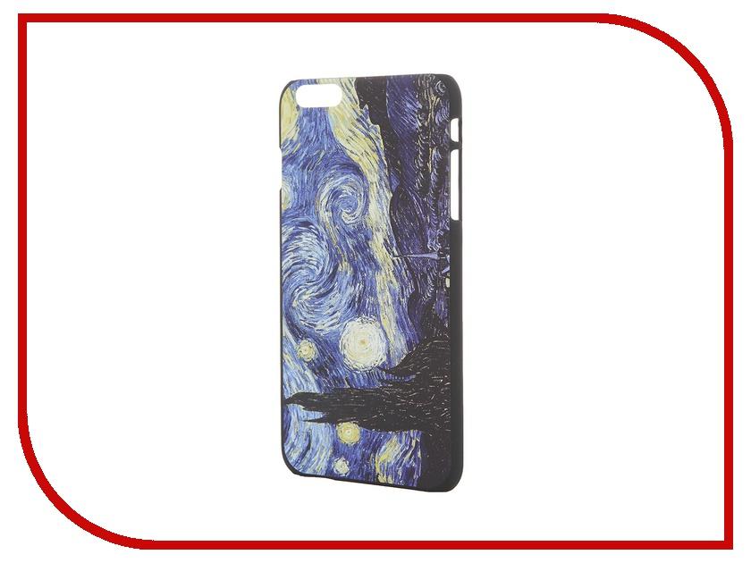 Аксессуар Чехол iPapai для iPhone 6 Plus Картины Ван Гог Звездная ночь<br>