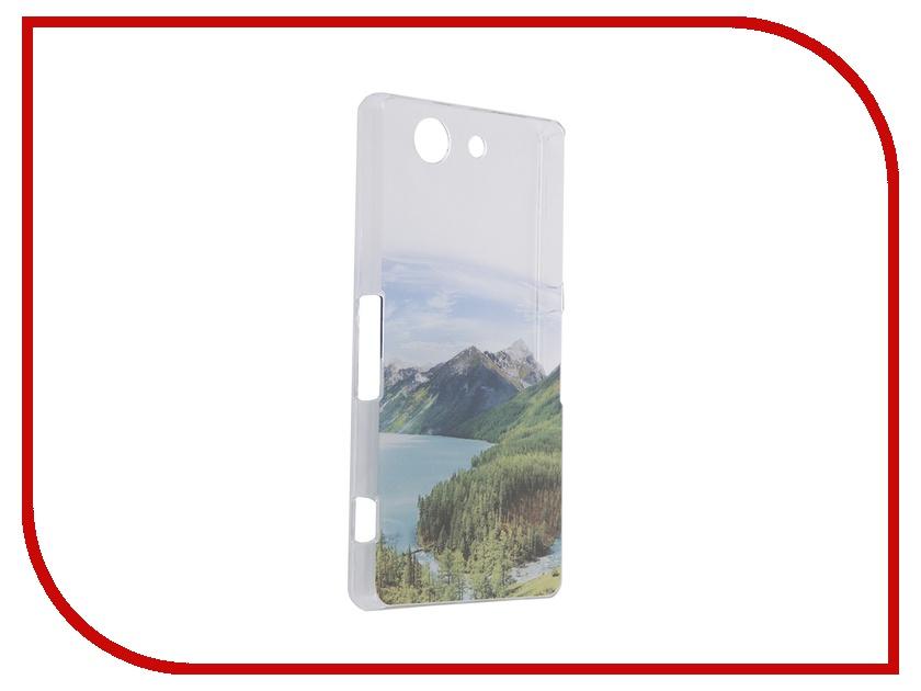 Аксессуар Чехол Sony Xperia Z3 Compact iPapai Пейзаж горы