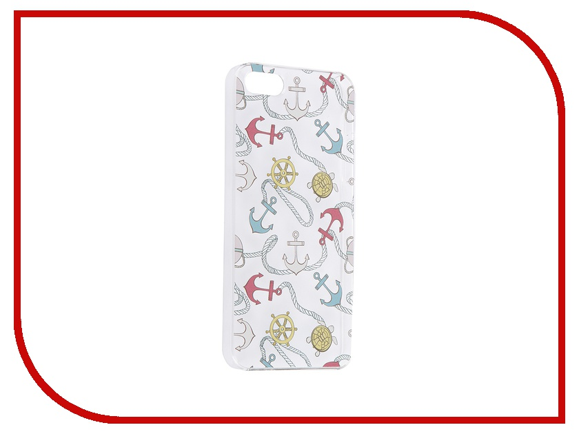 Аксессуар Чехол iPapai для iPhone 5 / 5S Ассорти Морской<br>