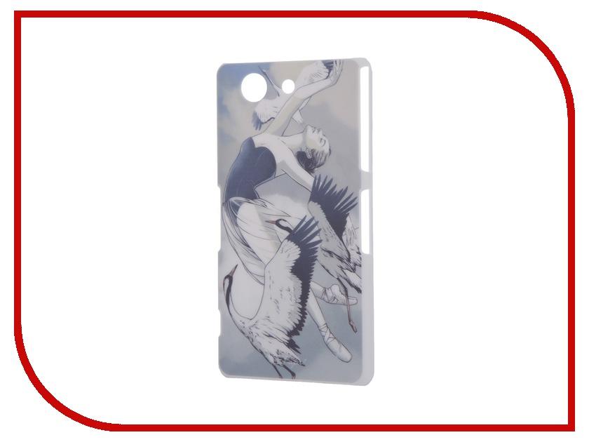 Аксессуар Чехол Sony Xperia Z3 Compact iPapai Женственность Балерина<br>