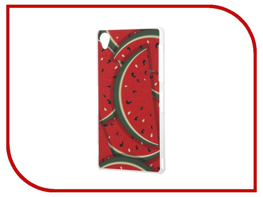 Аксессуар Чехол Sony Xperia Z3 iPapai Витамины Арбуз аксессуар чехол ipapai для iphone 6 plus витамины арбуз