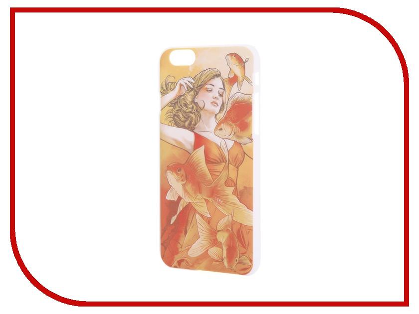 Аксессуар Чехол iPapai для iPhone 6 Женственность Золотая рыбка