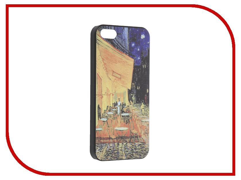 Аксессуар Чехол iPapai для iPhone 5 / 5S Картины Ван Гог Ночная терраса<br>