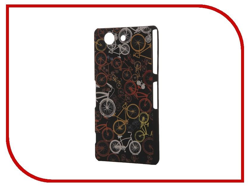 Аксессуар Чехол Sony Xperia Z3 Compact iPapai Rock n Roll Велосипеды<br>