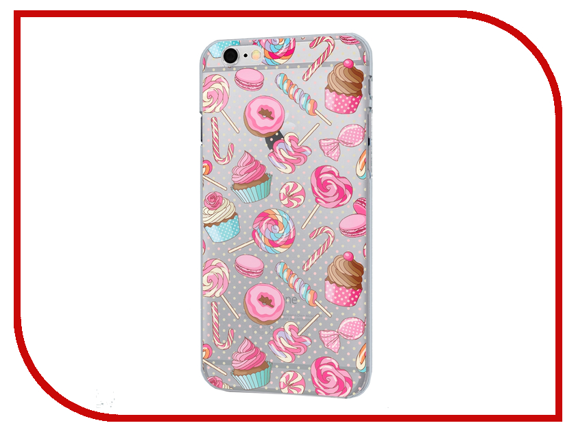 Аксессуар Чехол iPapai для iPhone 6 Ассорти Сладости<br>