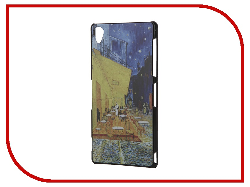 Аксессуар Чехол Sony Xperia Z3 iPapai Картины Ван Гог Ночная терраса